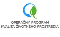Logo Operačný program životného prostredia